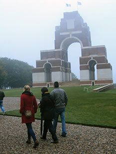 Thiepval - Monument to the Missing of the Somme