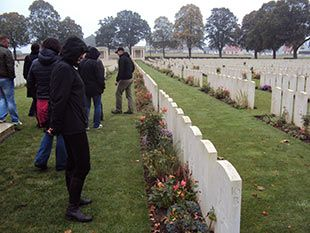 Longueval - South-African Cementary